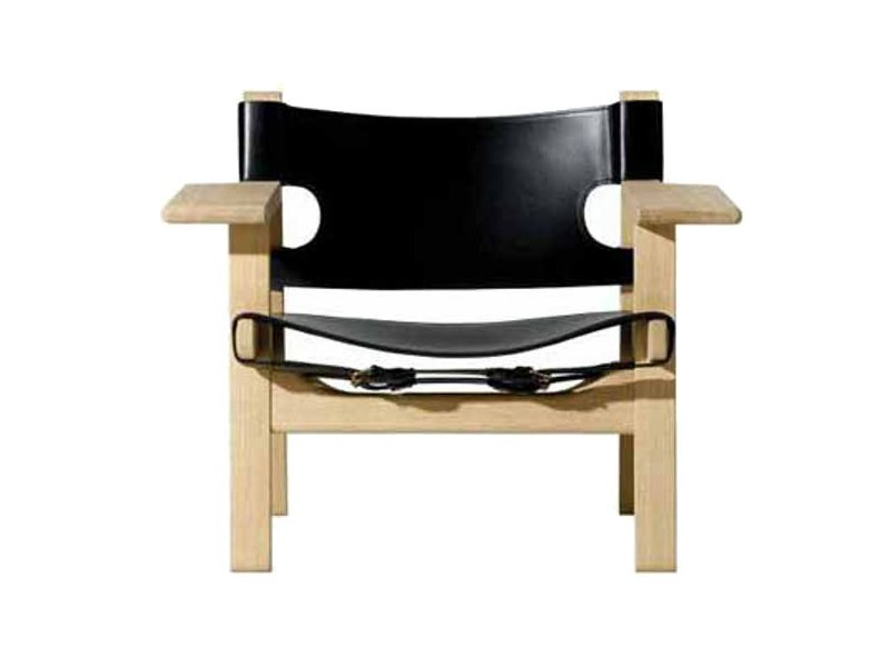 Easy chair with armrests THE SPANISH CHAIR by FREDERICIA FURNITURE