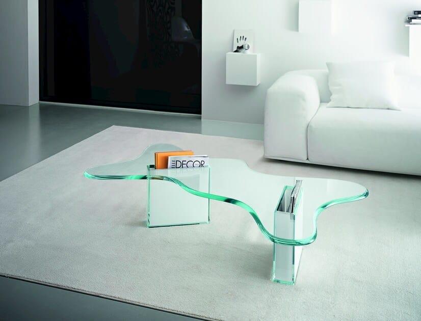 Vetro Design Tavolino In Tonelli Splash F1JlKcuT3