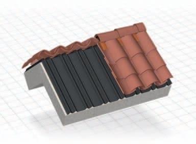 Tiles fixing system DELTA® LINE 95 - 190 by DÖRKEN ITALIA