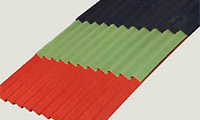 Metal sheet and panel for roof DELTA® LINE COLOR by DÖRKEN ITALIA