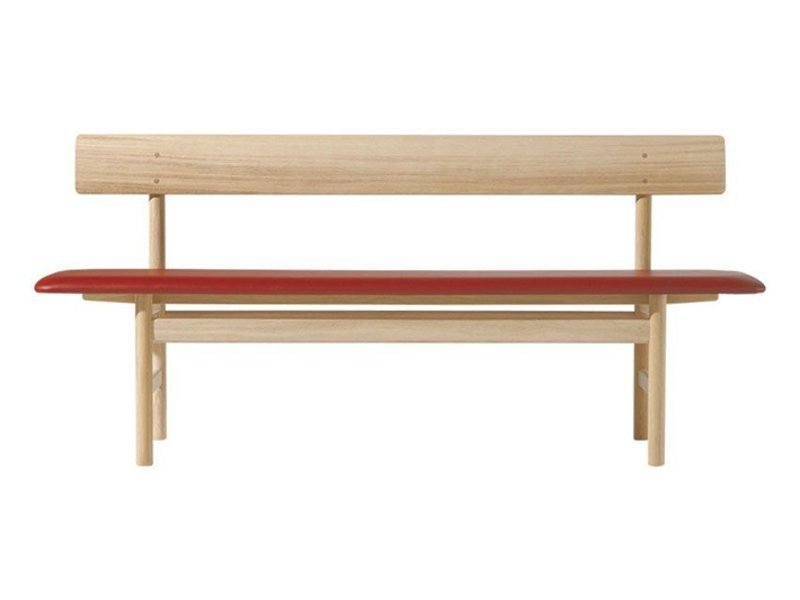 Upholstered bench 3171 | Bench by FREDERICIA FURNITURE