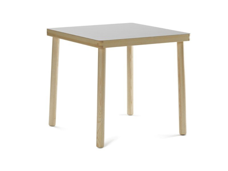 Square wooden table NICO | Table by Zilio A&C