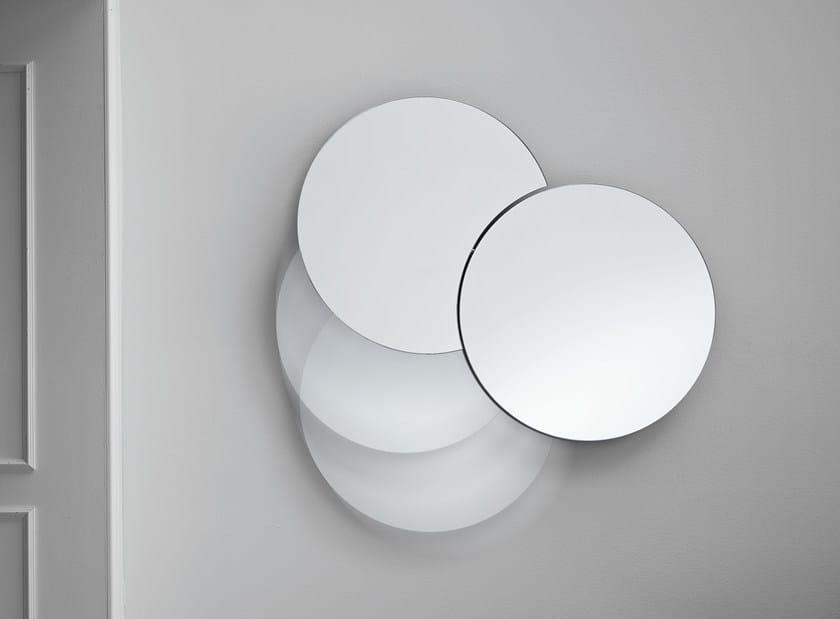 Wall-mounted mirror SHIKI by Tonelli Design
