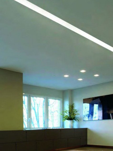 Coral® Linear lighting profile INVIDIA by Buzzi & Buzzi