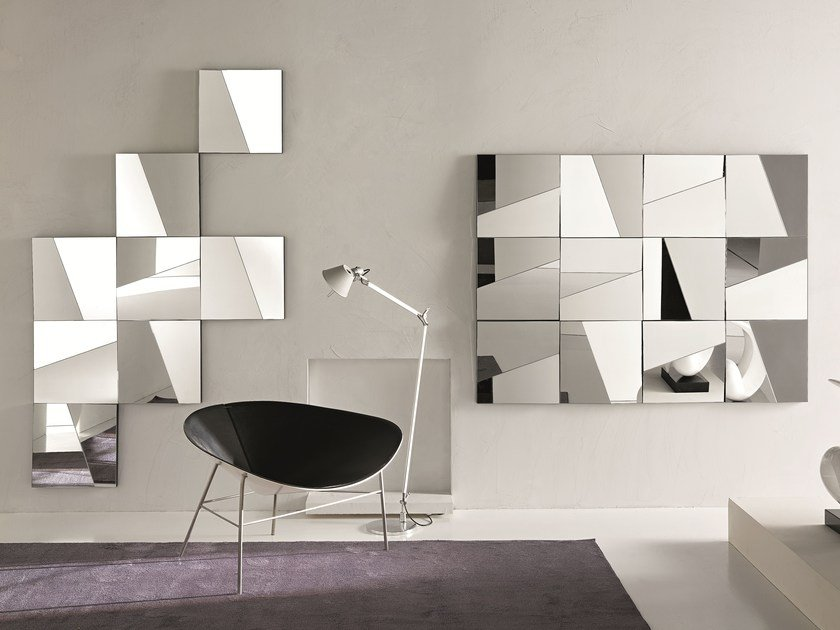 Wall-mounted mirror STATI D'ANIMO by Tonelli Design