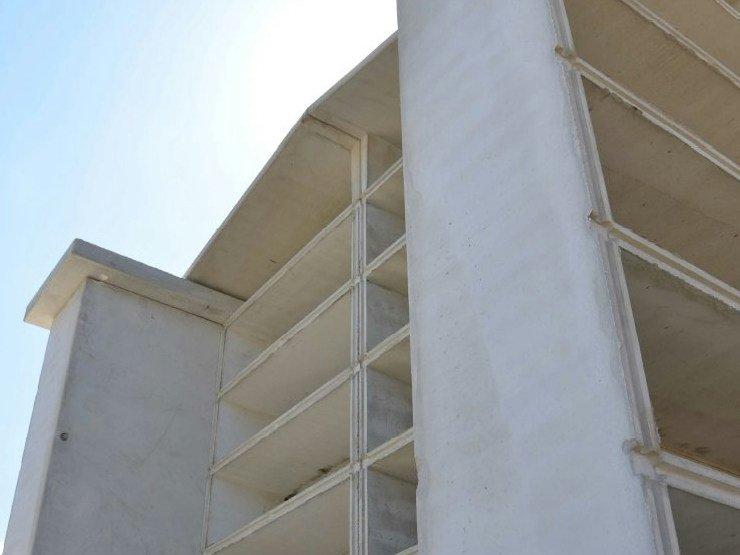Precast reinforced concrete structural component Niches for cemetery by F.LLI ABAGNALE