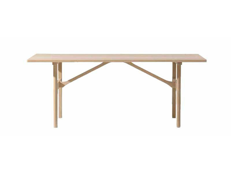 Rectangular dining table 6284 | Table by FREDERICIA FURNITURE