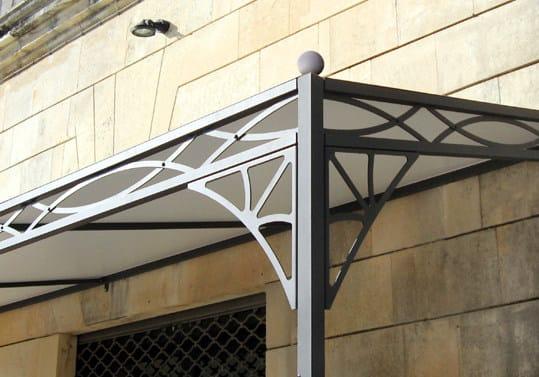 Steel canopy Door canopy by Sprech