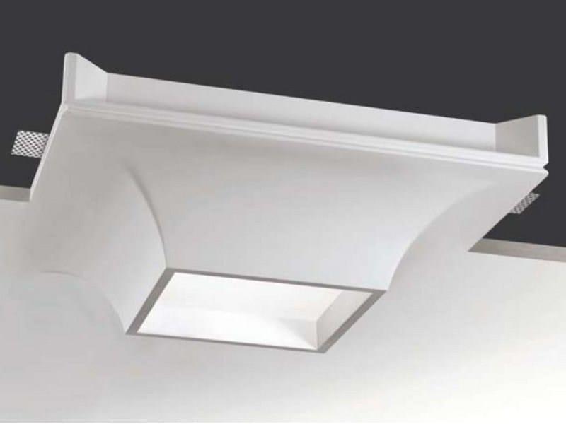 Lampada da soffitto a semi-incasso in Coral® MOTUS by Buzzi & Buzzi