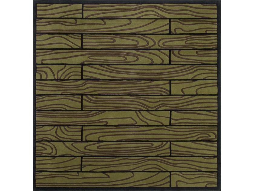 Square wool rug WOODSTOCK by NOW CARPETS