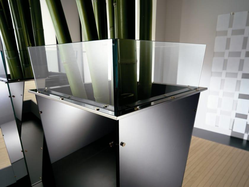 Glass vase AMON by Tonelli Design