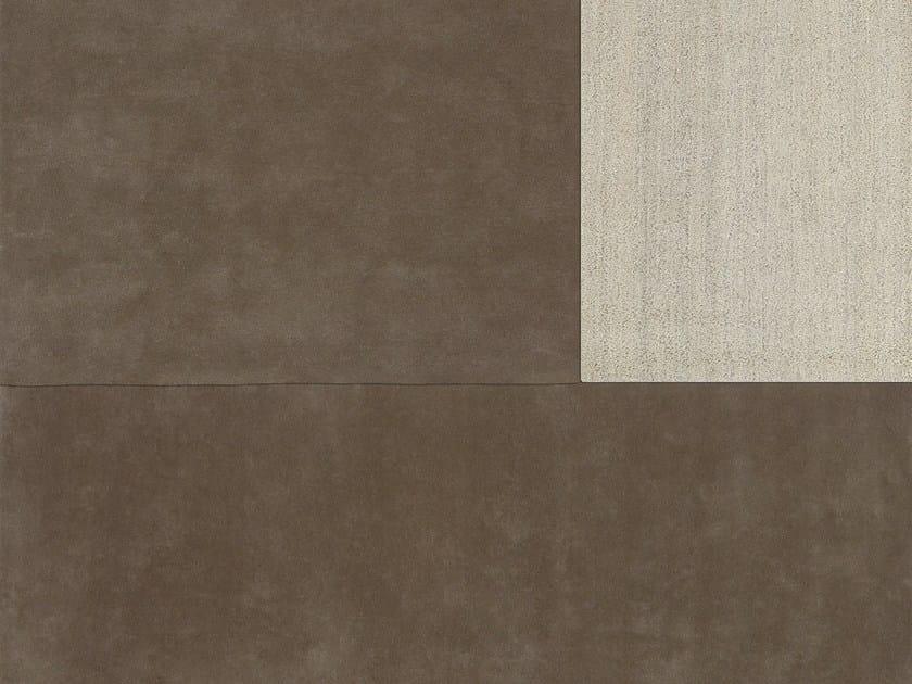 Rectangular wool rug EGO   Rectangular rug by NOW CARPETS