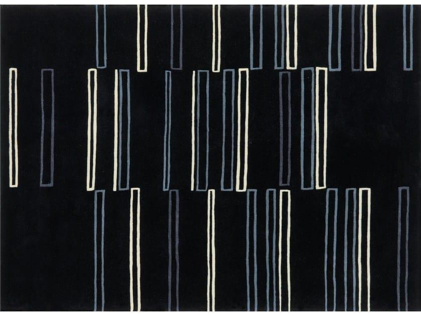 Rectangular wool rug SKYSCRAPER by NOW CARPETS