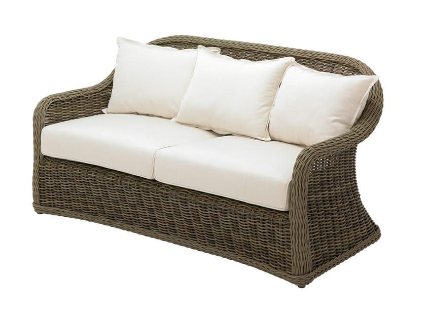 Upholstered 3 seater sofa HAVANA | Garden sofa by Gloster