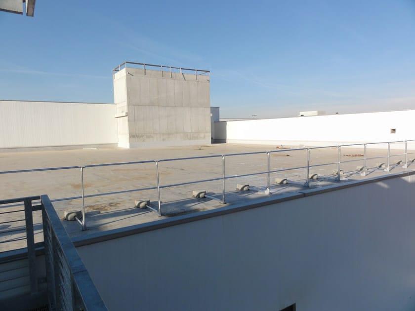 Aluminium balustrade ALLUKEMY SKY™ freestanding by SOMAIN ITALIA