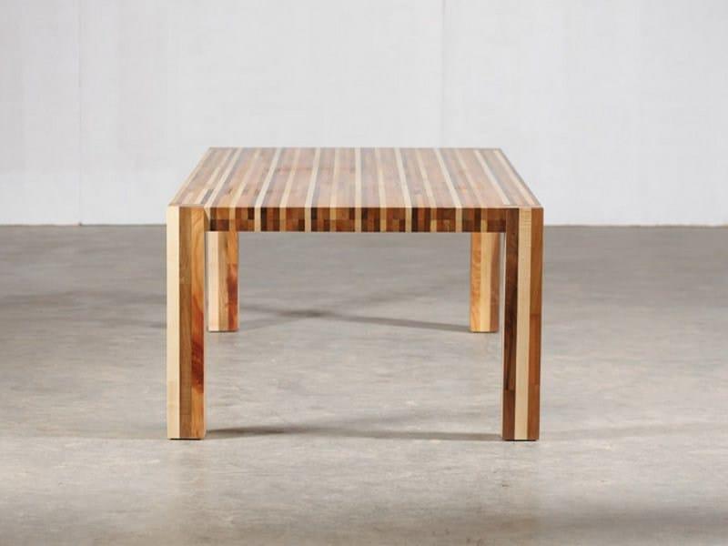 Rectangular wooden table KILIM by Artisan