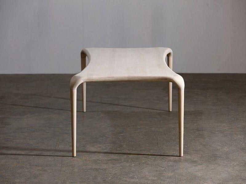 Rectangular wooden table CASTULA by Artisan