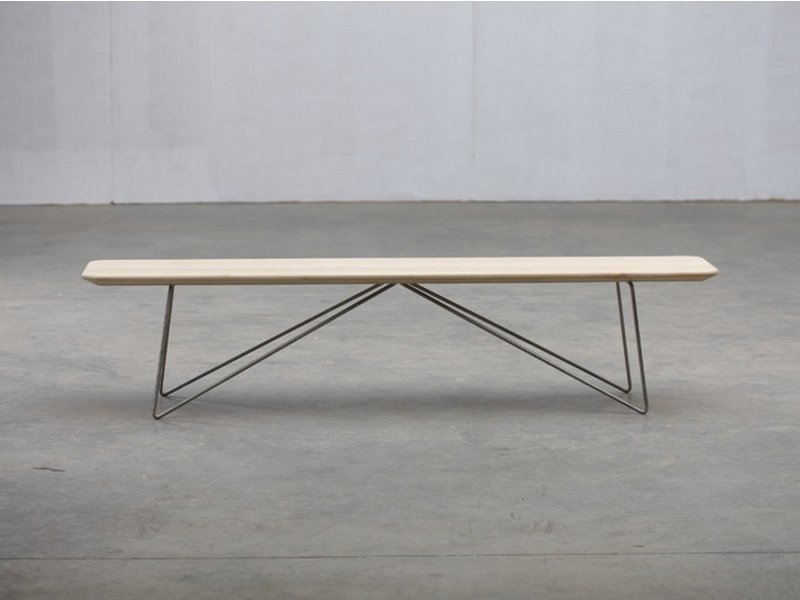Wooden bench LINEA | Bench by Artisan