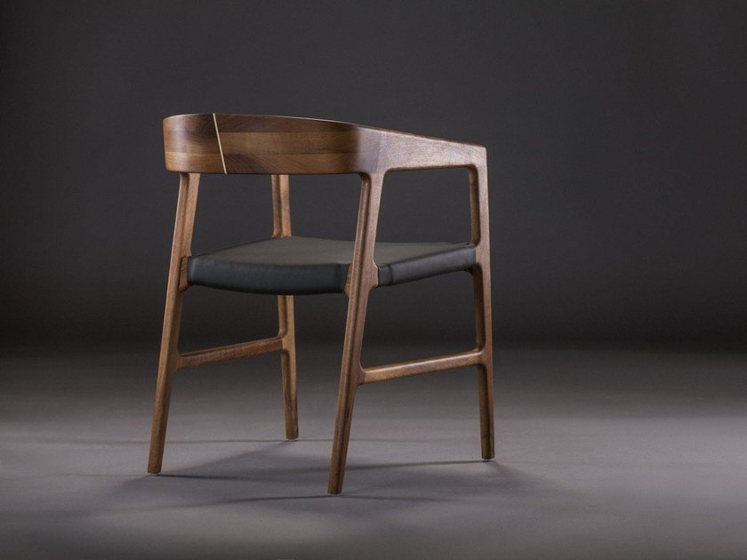Upholstered chair with armrests TESA | Upholstered chair by Artisan