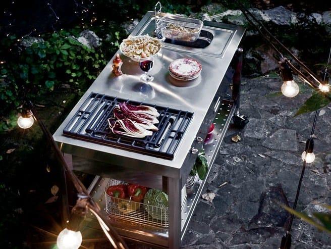 Outdoorküche Garten Edelstahl Xl : Liberi in cucina outdoorküche by alpes inox