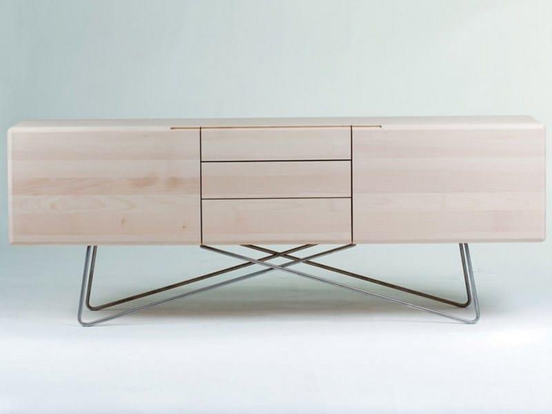 Wooden sideboard LINEA   Sideboard by Artisan