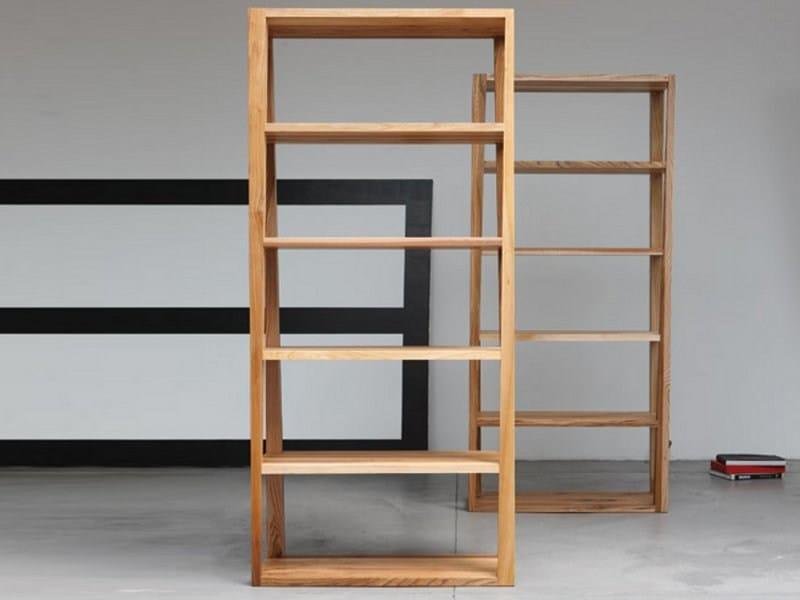 Wooden shelving unit BASIC | Bookcase by Artisan