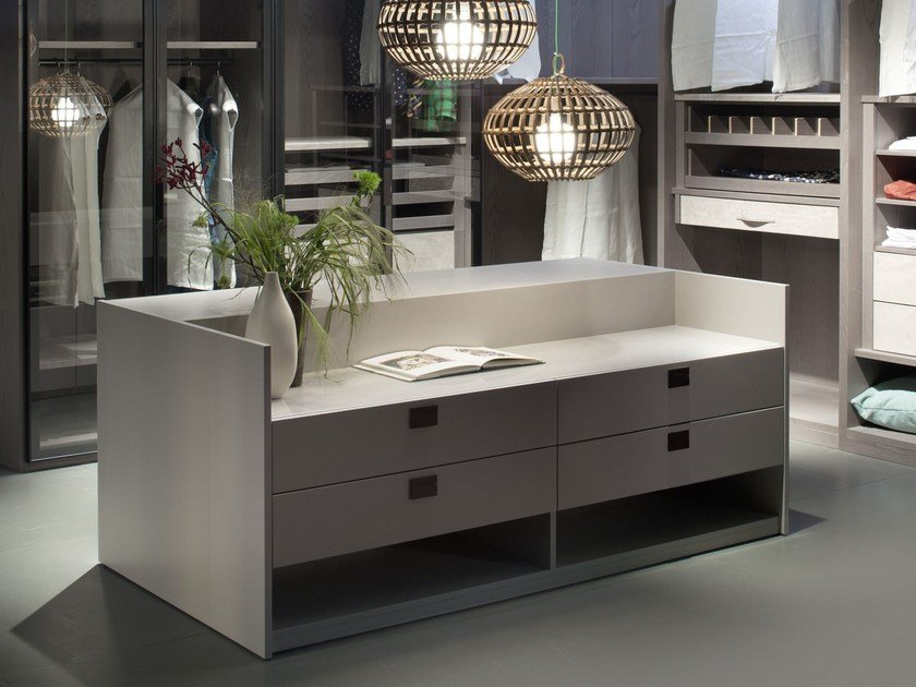 Double-sided unit with drawers MAUI by EmmeBi
