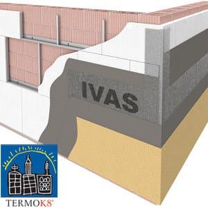 Exterior insulation system TermoK8® MECCANICO by Ivas Vernici