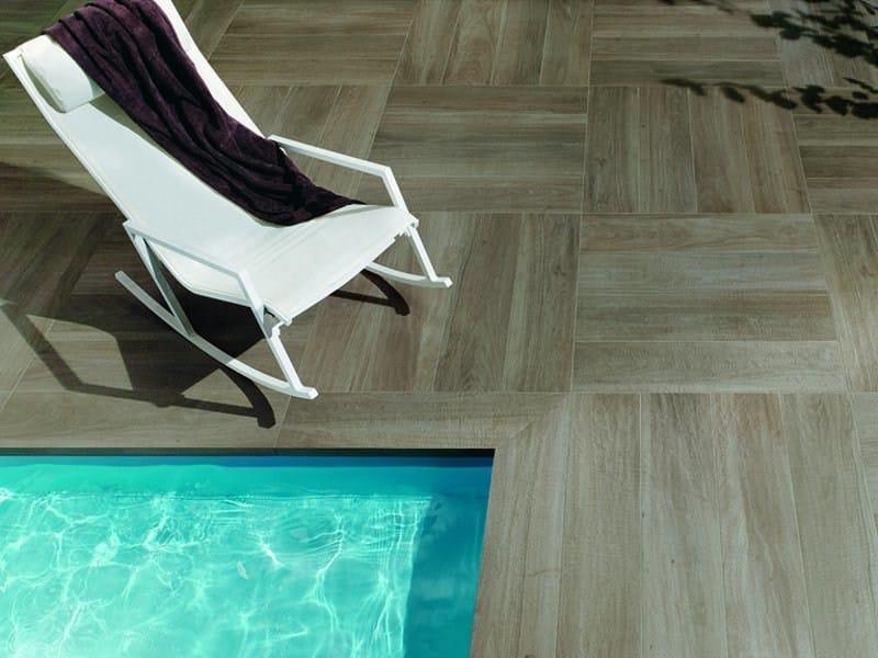 Piastrelle Effetto Legno Per Esterni : Pavimento per esterni in gres porcellanato effetto legno nuances