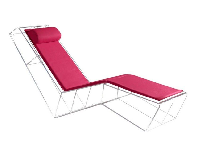 PMMA lounge chair SPACEBOOK by La Maison Turrini