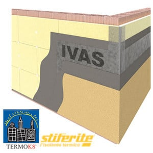 Exterior insulation system TermoK8® SLIM by Ivas Vernici