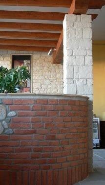 MATTONE RICOSTRUITO Mattone ricostruito rosso