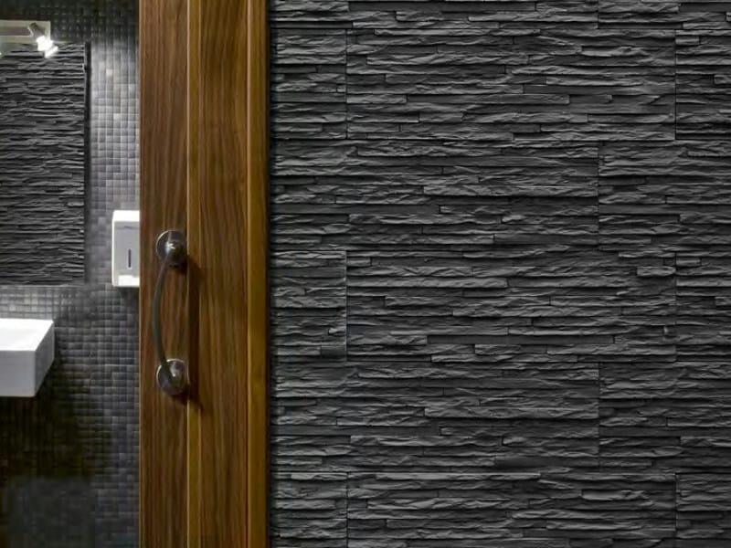 Indoor/outdoor 3D Wall Cladding ARAN by SAS Italia