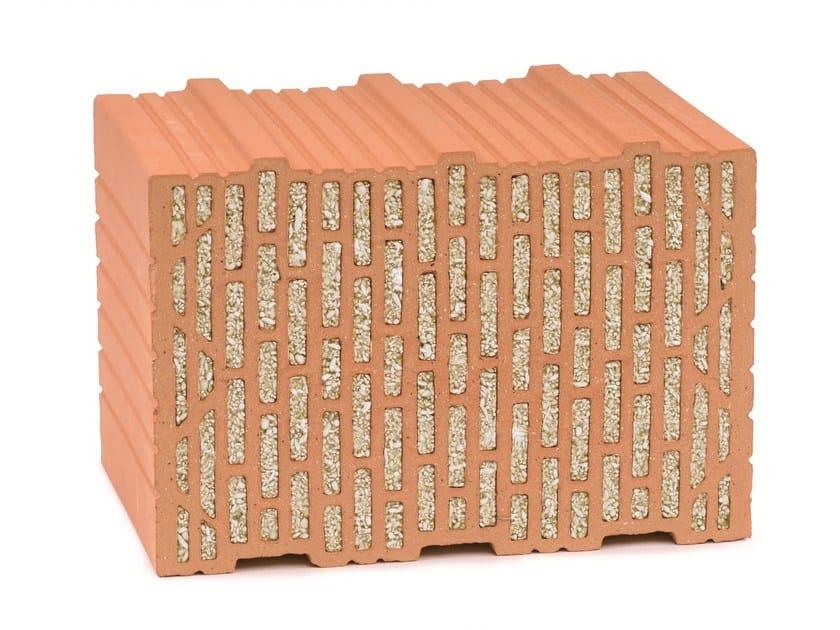 Loadbearing clay block UNIPOR WS10CORISO by LEIPFINGER-BADER