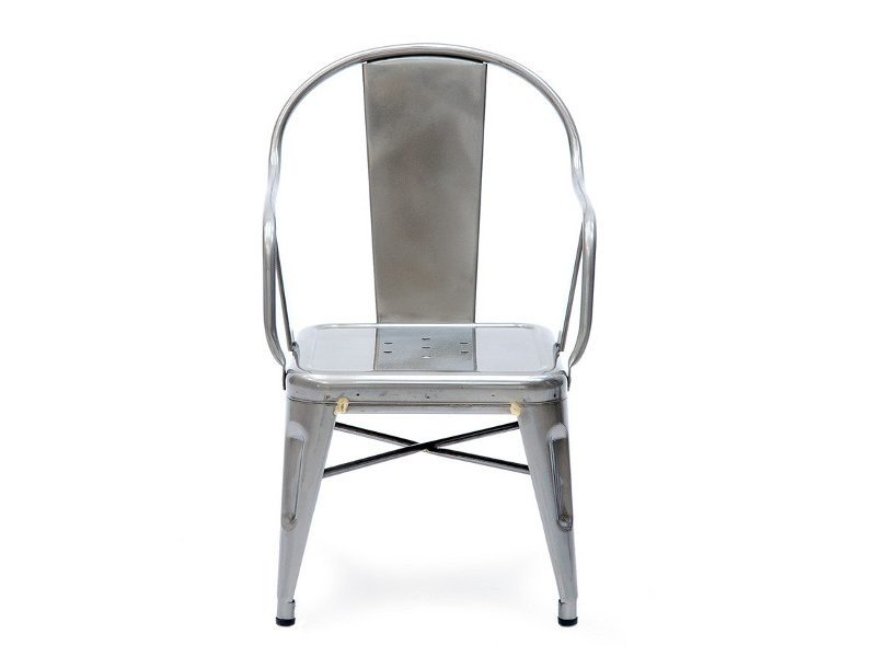 Garden armchair with armrests MOUETTE by Tolix