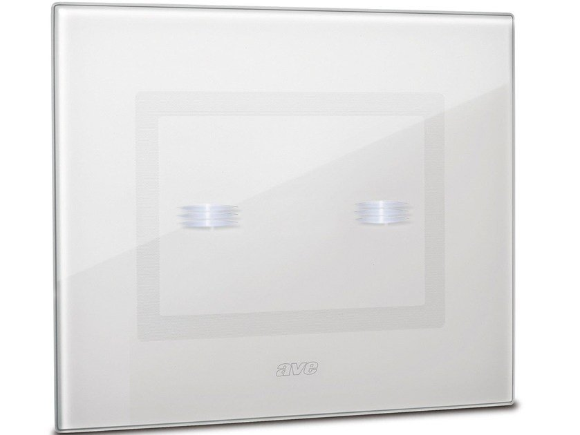 Glass electrical socket DOMUS TOUCH by AVE