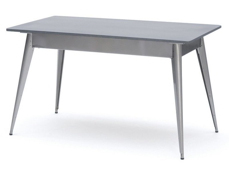 Lacquered Rectangular Steel Table 55 | Rectangular Table By Tolix