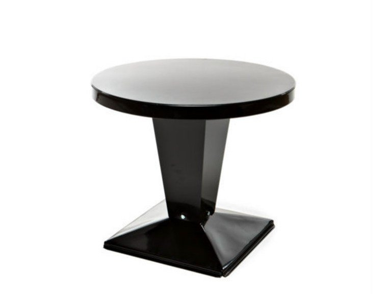 Round metal coffee table KUB   Round coffee table by Tolix