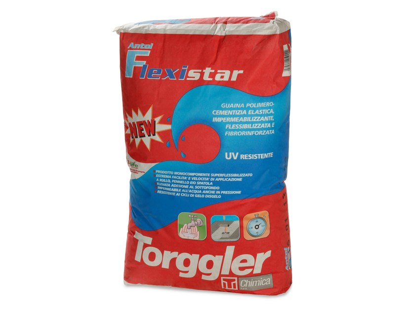 Cement-based waterproofing product ANTOL FLEXISTAR by Torggler Chimica