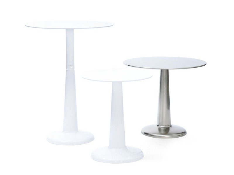 Round Metal Table G | Metal Table By Tolix