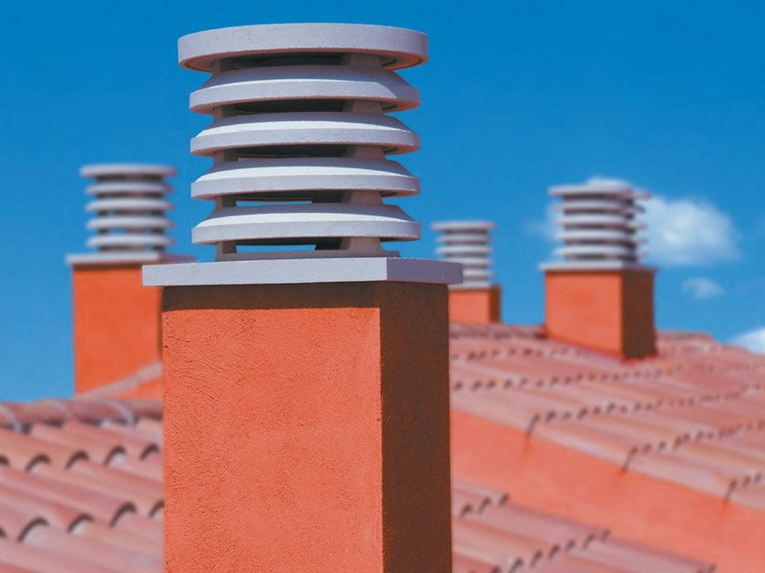 Chimney for roof Chimney for roof by SAS Italia