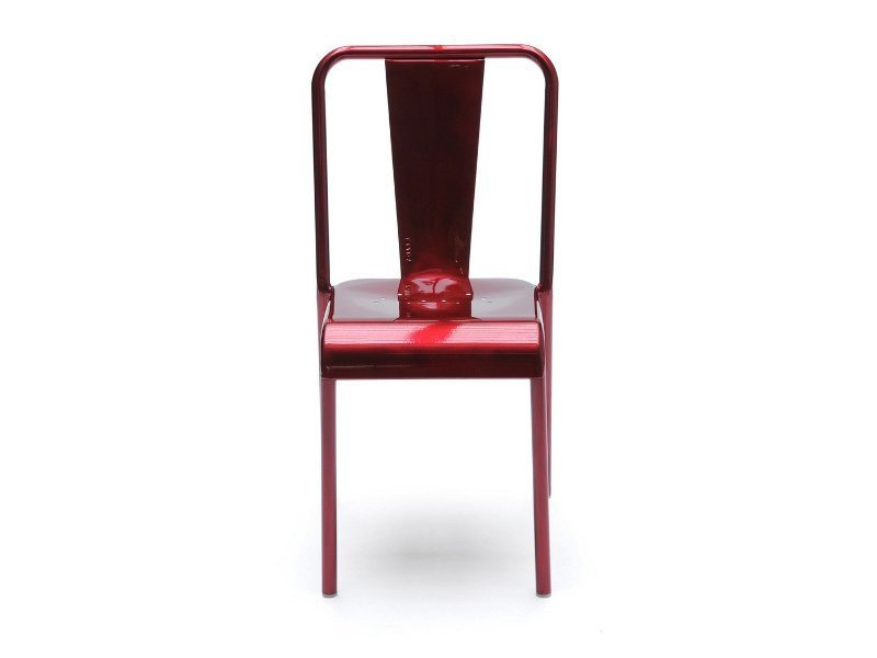 Stackable metal chair T37   Metal chair by Tolix