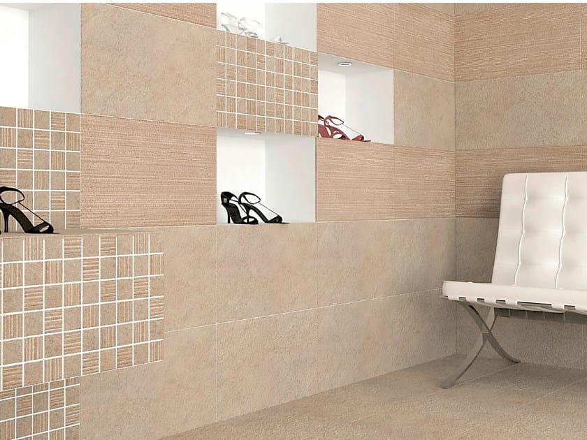 Porcelain stoneware wall tiles KIEV by REALONDA