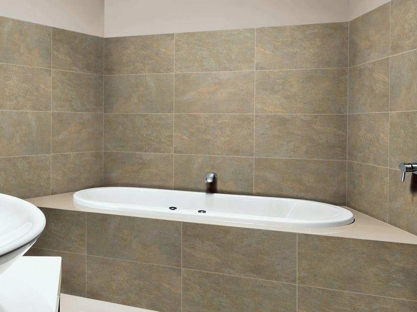 Porcelain stoneware wall tiles OROTAVA by REALONDA
