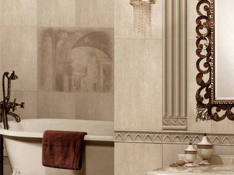 Porcelain stoneware wall tiles ROMA by REALONDA