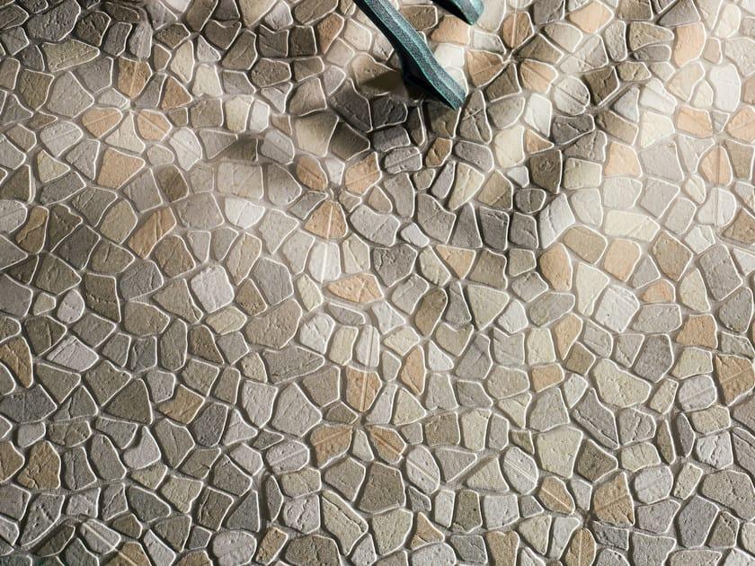 Porcelain stoneware outdoor floor tiles MÈRIDA by REALONDA