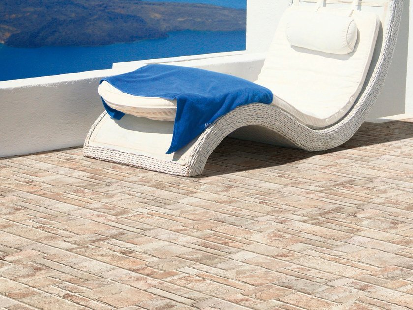 Outdoor porcelain stoneware wall/floor tiles BRASIL by REALONDA