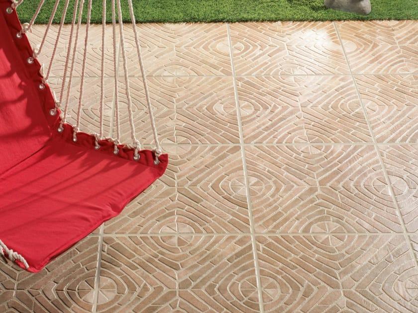 Porcelain stoneware outdoor floor tiles IMPERIA by REALONDA