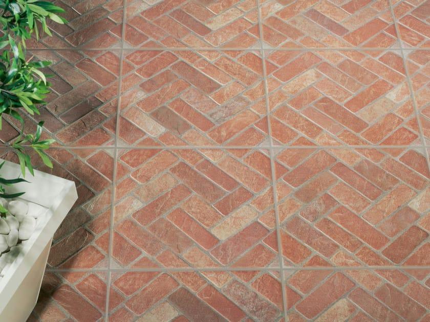 Porcelain stoneware outdoor floor tiles SEVILLA by REALONDA