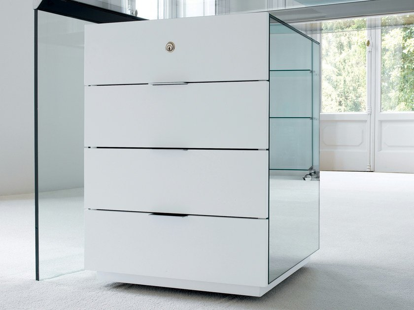 Office drawer unit with casters PRESIDENT by Gallotti&Radice